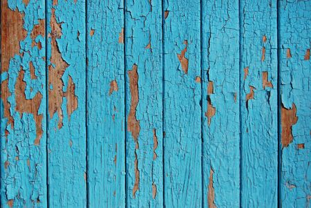 flaking: wooden planks, palisade blue serenity