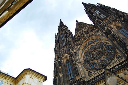 vitus: St. Vitus Cathedral. Prague Stock Photo