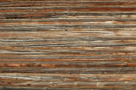 palisade: Old wooden fence. wood palisade background. planks texture
