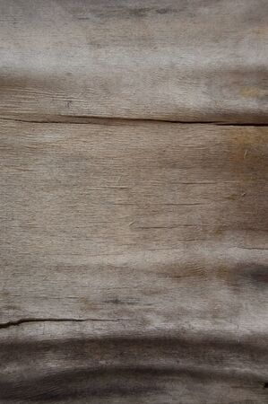 Vintage painted wooden texture. White horizontal background of wood. Laminboard, plywood, old brown paper