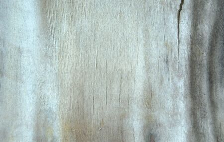 Vintage painted wooden texture. White horizontal background of wood. Laminboard, plywood, old blue paper