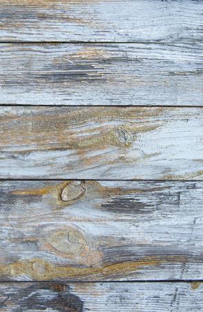 Blau alten Holzzaun. Holzpalisaden Hintergrund. Bohlen Textur Standard-Bild - 92055456