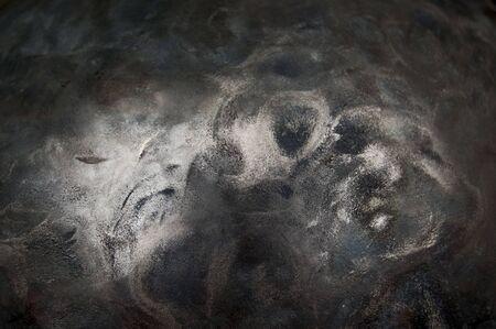 Metallhintergrund, Beschaffenheit des Titans, Blatt der Metalloberfläche, Stahl, Farbe Standard-Bild - 91231340