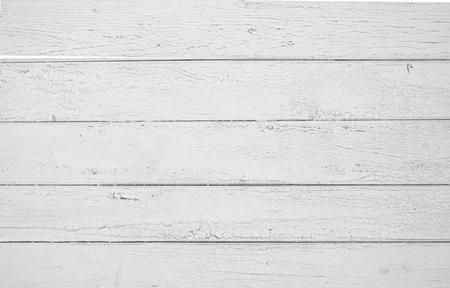 Weißer alter hölzerner Zaun. Holz Palisade Hintergrund. Planken Textur Standard-Bild - 91701958