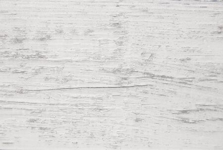 Vintage painted wooden texture. White horizontal background of wood. Standard-Bild