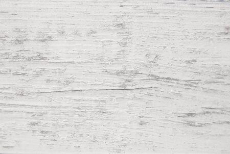 Vintage painted wooden texture. White horizontal background of wood. Standard-Bild - 133111478
