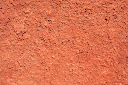 Red wall, cracked paint background