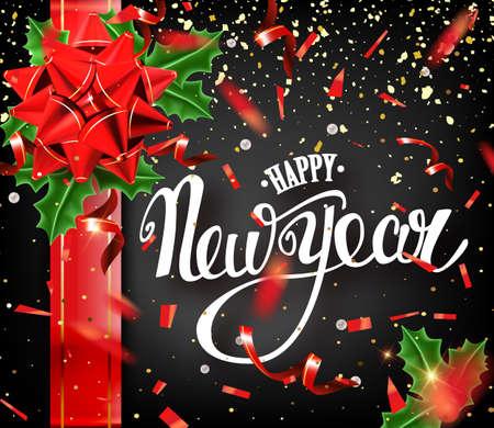 Happy New Year banner.