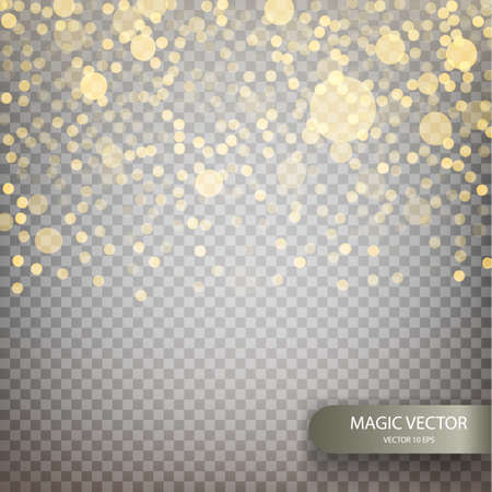 Magic vector luminous background.
