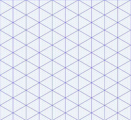 Isometric graph paper background. Measured grid. Graph plotting grid. Corner ruler with measurement isolated on the white background. Vector graph paper template background.