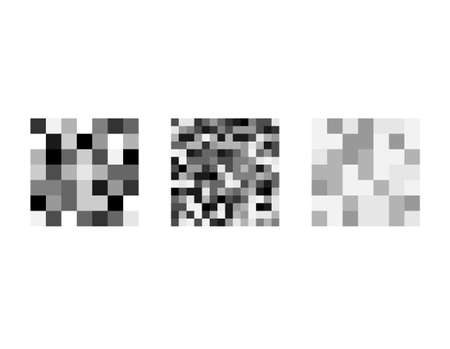 Censorship rectangle set. Censored signs concept. Isolated Set of censor bar. Pixel censored vector template. Black censor bar. Censorship rectangle.