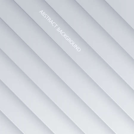 White background textured with paper 3d shapes. Abstract White background. Geometric shape concept