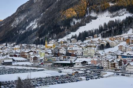 Ischgl, Austria - December 24, 2017: Winter resort Banque d'images - 114642727