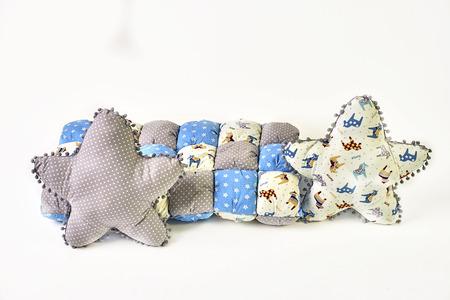 Pillow and neckwork Standard-Bild - 114618492