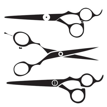 Hair scissors icon