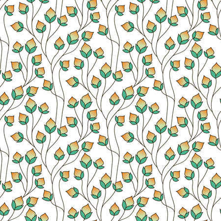 Seamless floral pattern. Hand drawn delicate background. Perfect for greetings, invitations, manufacture wrapping paper, textile, wedding and web design.