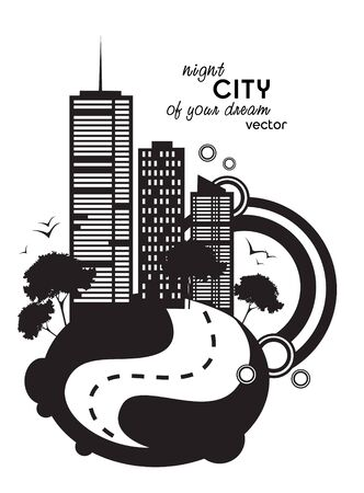 night city Stock Vector - 17520737