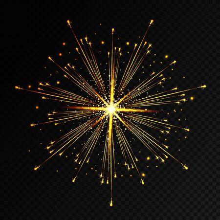 holiday firework Illustration