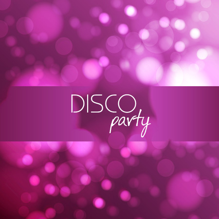 Disco abstract background Illustration