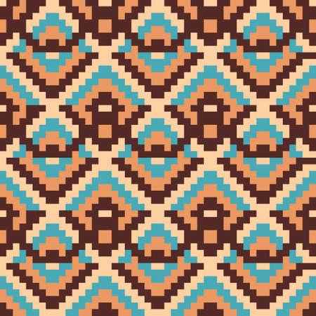 ukrainian traditional: Ethnic geometric ornament. Pattern background