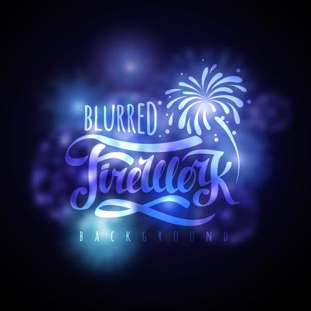 Holiday firework.