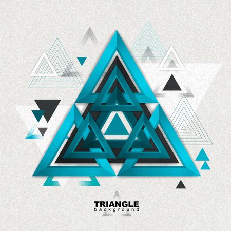 Abstracte hipster driehoekige driehoek achtergrond. Driehoek patroon achtergrond. Stockfoto - 86986684