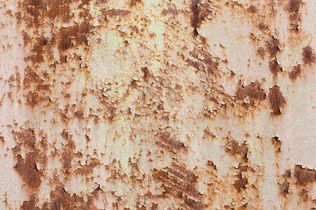 flaky: flaky rusty metal background