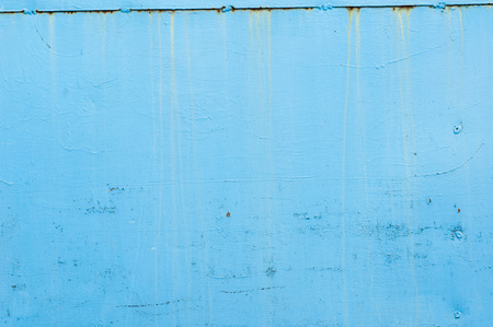 metal wall: blue metal wall texture background Stock Photo