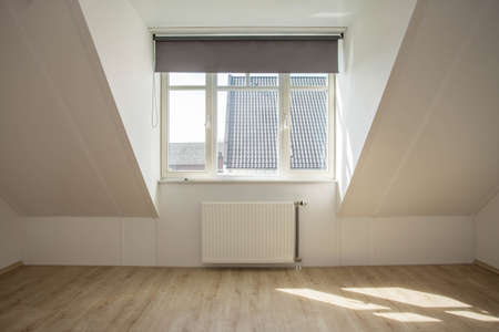 New dormer in a empty clean house