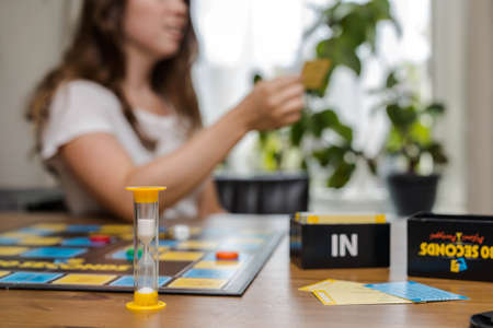 30 seconds board game, August 12,2019 North Brabant The Netherlands