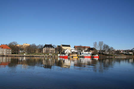 fredrikstad: By the river