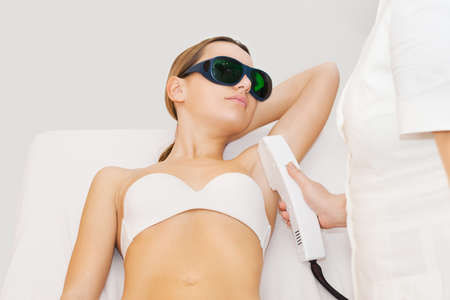 hair treatment: Laser hair removal