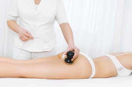Cavitation treatment 스톡 콘텐츠