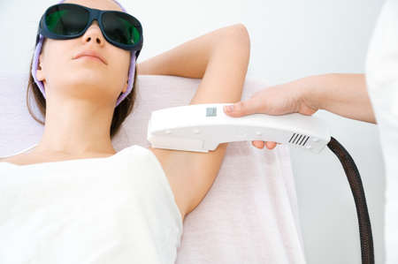 depilation: Laser epilation treatment