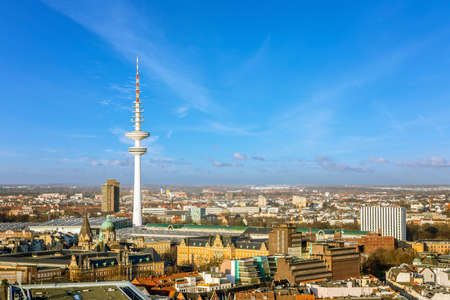 heinrich: Hamburg, Heinrich Hertz, telecommunication tower Stock Photo