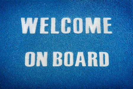 bienvenida: Bienvenido a bordo