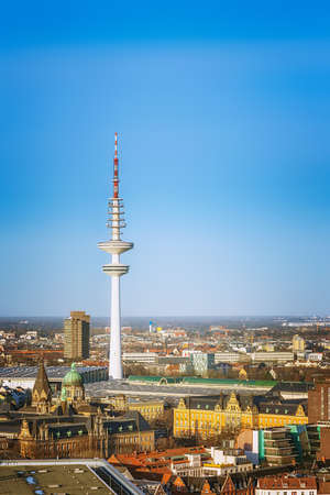 heinrich: Hamburg, Heinrich Hertz, telecommunication tower Editorial