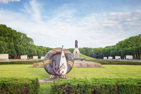 ddr: Treptower park in Berlin, Germany Stock Photo