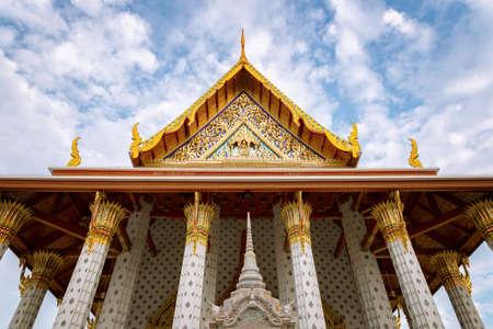 The Ordination Hall at Wat Arun, Bangkok, Thailand