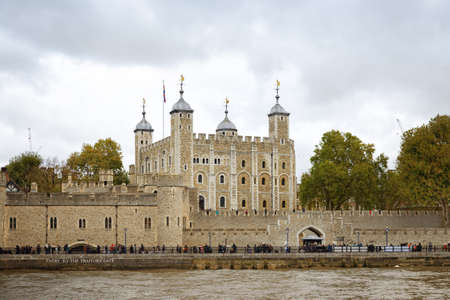 The Tower of London, officially named Her Majestys Royal Palace and Tower of the Tower of London