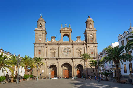 Cathedral of Santa Ana, Las Palmas, Gran Canaria, Canary islands Imagens