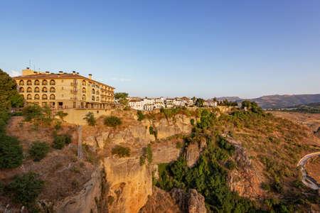 Ronda, city in the Spanish province of Malaga 版權商用圖片