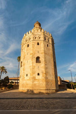 Torre del Oro, Tower of Gold, Seville, Spain