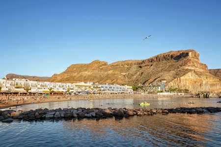 Beach in Puerto de Mogan, Little Venice in Gran Canaria