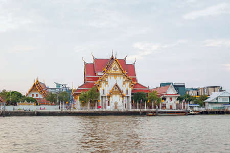 Tha Chang - Wat Rakhang Pier, Bangkok, Thailand