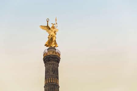 Berlin Victory Column Standard-Bild
