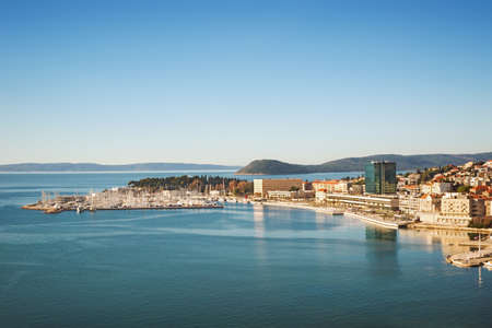Beatiful Split, Dalmatia, Croatia Banque d'images