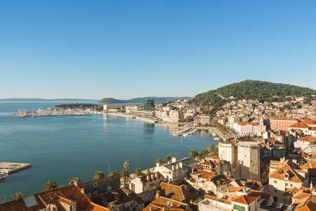 Beatiful Split, Dalmatia, Croatia Standard-Bild