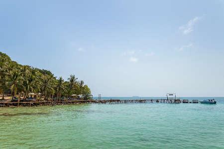 May Rut Ngoai island, Kien Giang, Vietnam