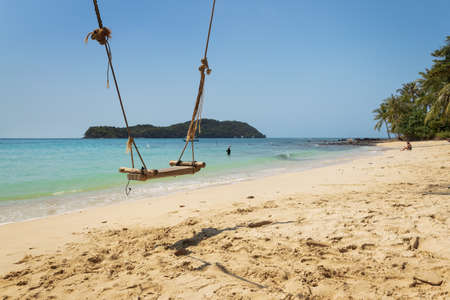 May Rut Ngoai Island, Vietnam Standard-Bild